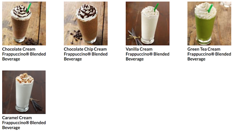 Frappuccino® Blended Cream